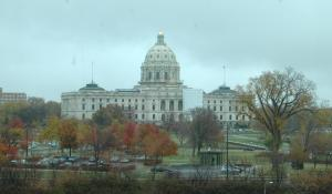 The Minnesota Capitol Building.