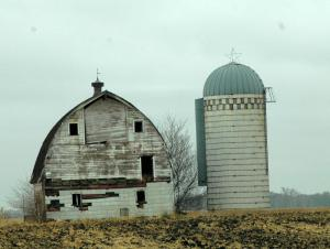 I find old barns to be a lot more interesting than new ones.